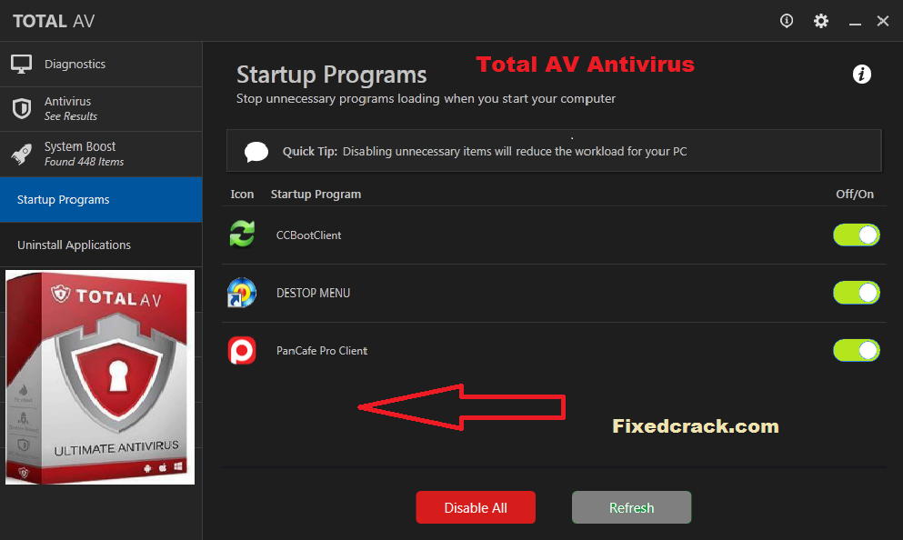 Total AV Antivirus Activation Key