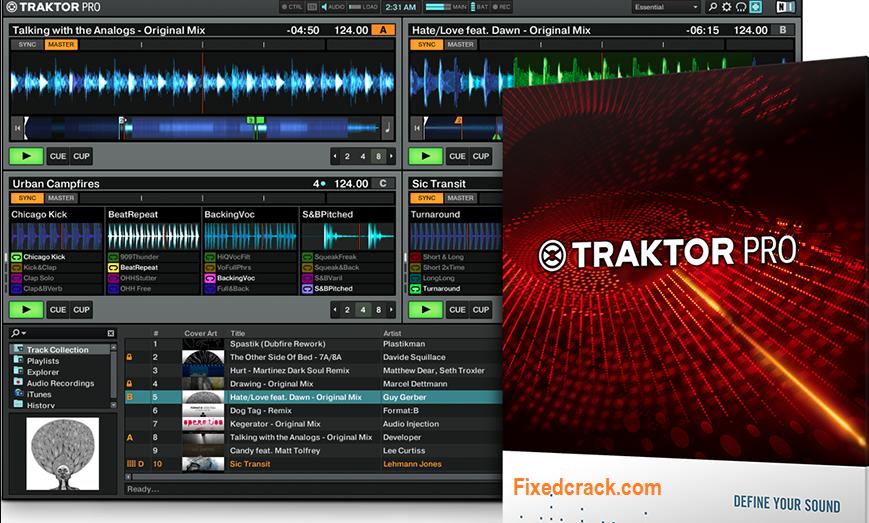 Traktor Pro 3.3.0 Crack + With License Key Full Setup Download