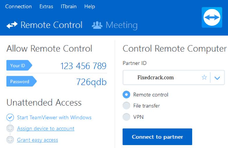 TeamViewer Key